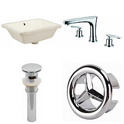 American Imaginations 18.25-inch W Undermount Sink Set - AI-25943