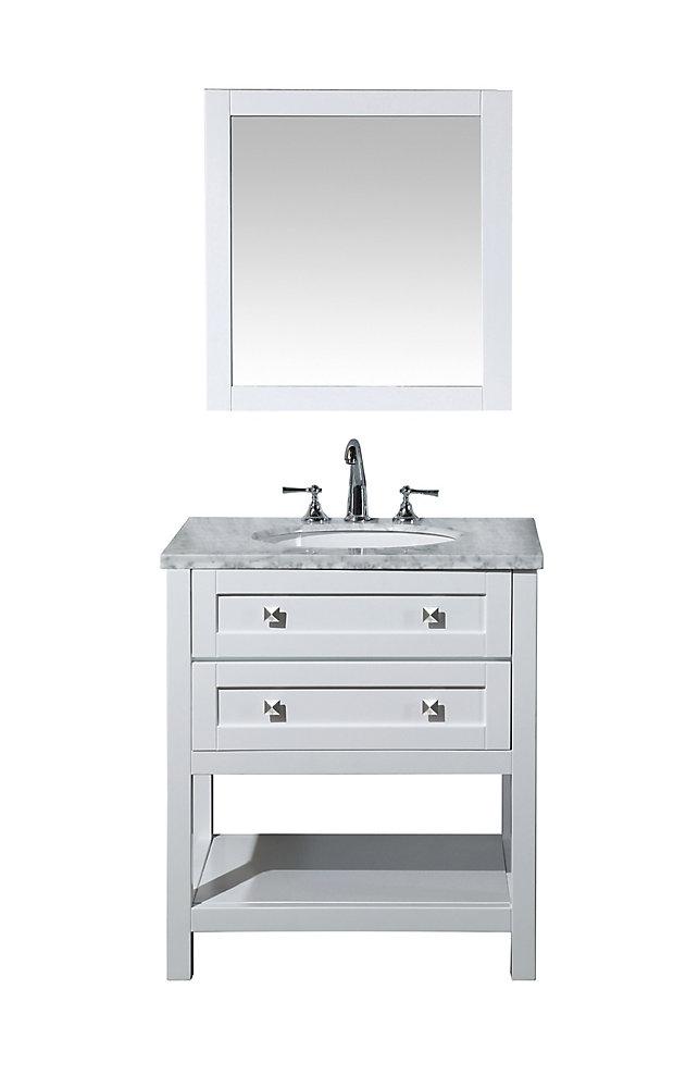 Stufurhome Marla 30 inch Single Sink Bathroom Vanity with ...