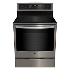 30-inch 6.2 cu. ft. Free Standing Electric Range with Self-Cleaning Convection Oven in Slate