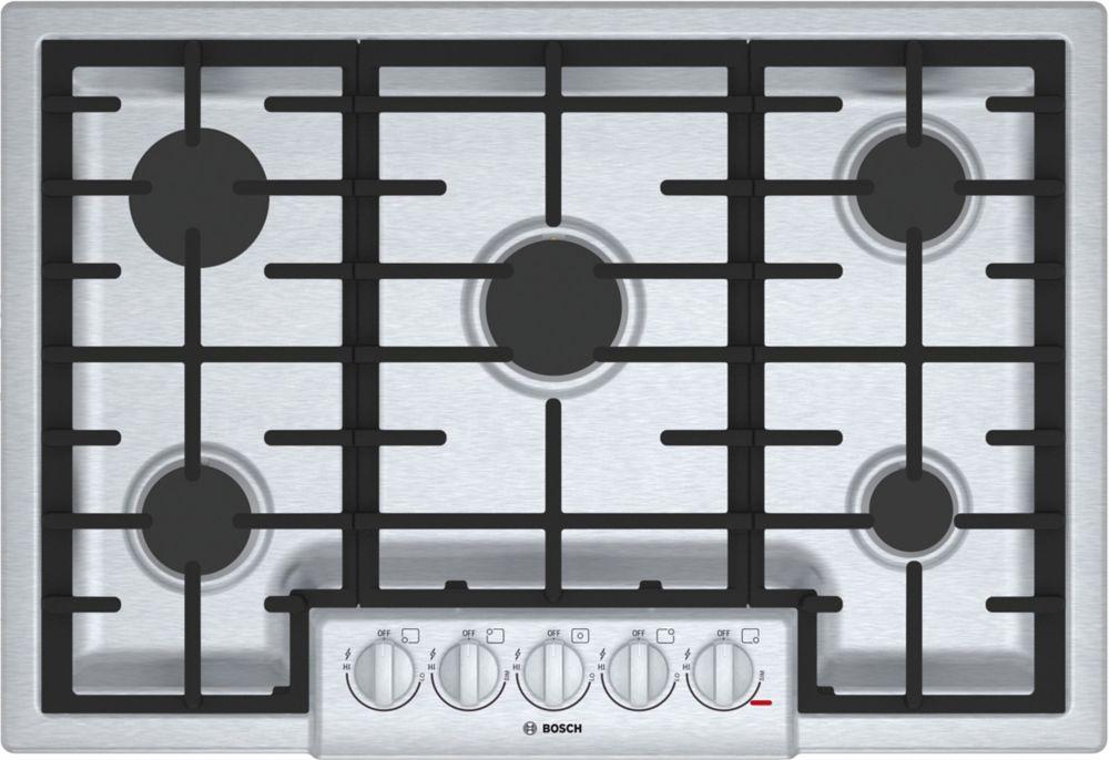 800 Series - 30 inch Gas Cooktop - 5 Burners