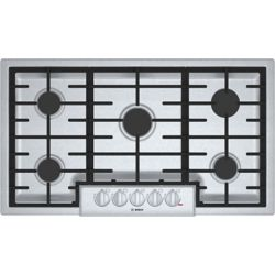 Bosch 800 Series - 36 inch Gas Cooktop - 5 Burners