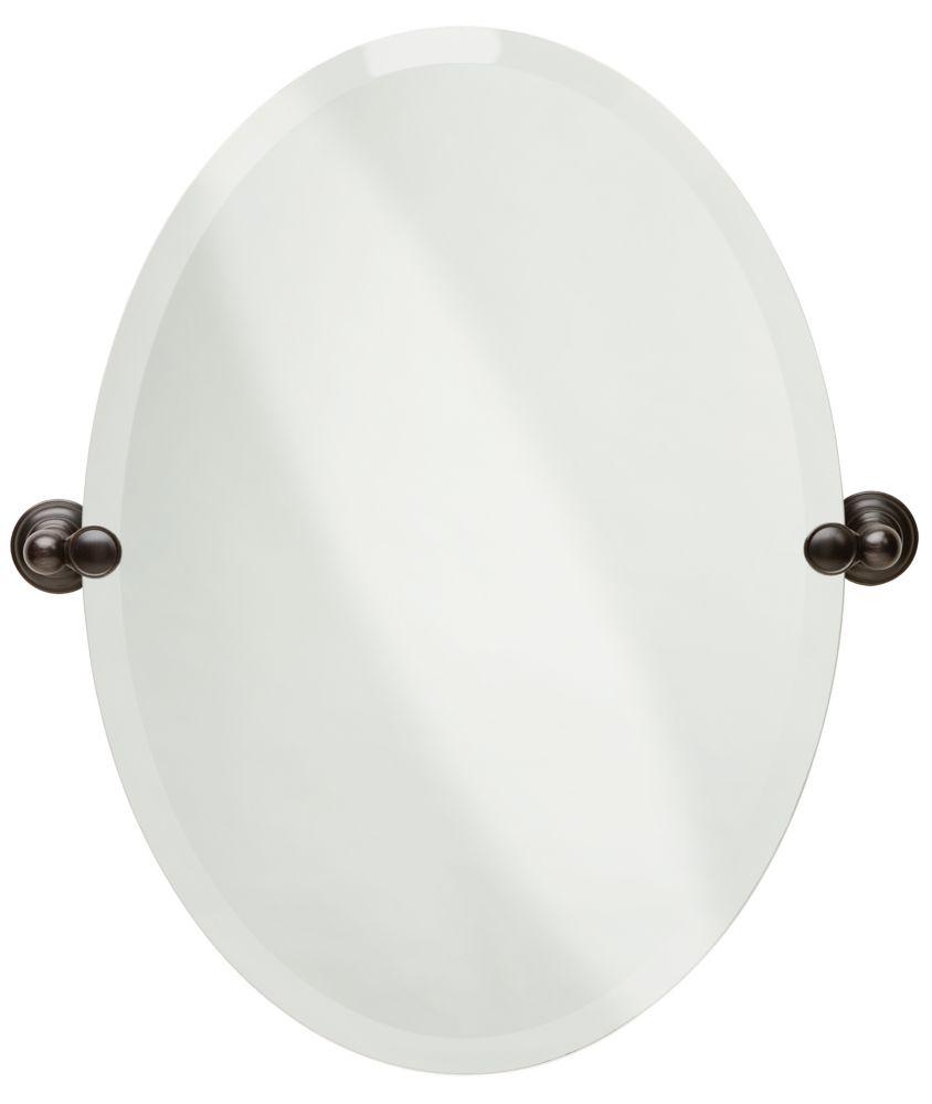 Delta Providence Oval Mirror, Venetian Bronze
