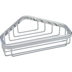 Delta Stainless Steel Small Corner Caddy, Stainless Steel
