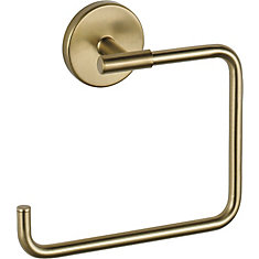 Trinsic Towel Ring, Champagne Bronze