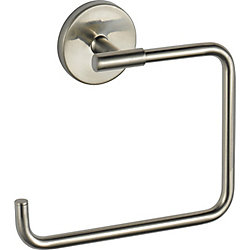 Trinsic Towel Ring, Stainless Steel