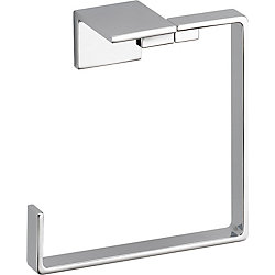 Vero Towel Ring, Chrome