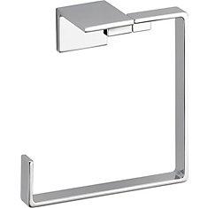 Vero Towel Ring, Chrome