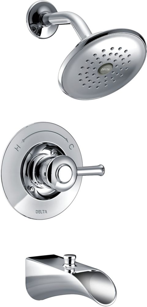 Delta Dawson Monitor 14 Series Tub and Shower, Chrome
