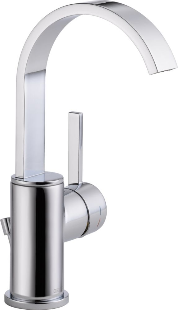 Delta Mandolin Single Handle Lavatory Faucet, Chrome