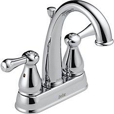 Leland Two Handle Centerset Lavatory Faucet, Chrome
