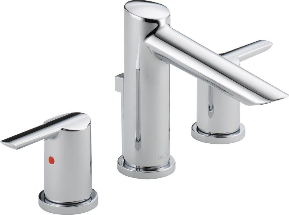 Glacier Bay Constructor 4 In Centerset 2 Handle Low Arc: Delta Centerset (4-inch) 1-Handle Low Arc Bathroom Faucet
