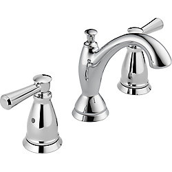Delta Linden Two Handle Widespread Lavatory Faucet, Chrome