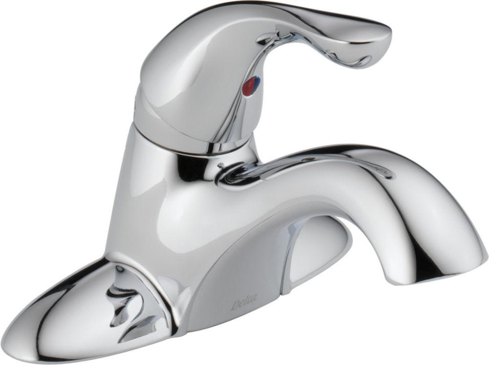 Delta Single Handle Centerset Lavatory Faucet - Less Pop-Up, Chrome