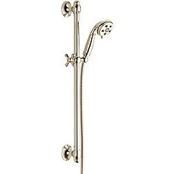 Cassidy Slide Bar Hand Shower, Polished Nickel