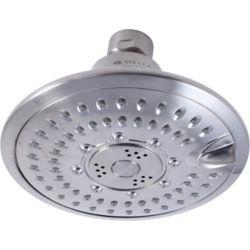 Delta Pomme de douche averse de pluie à 5réglages Touch-Clean, acier inoxydable