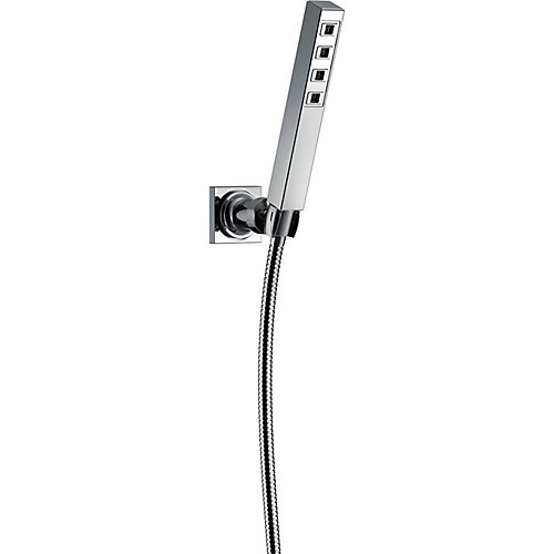 Wall Mount Hand Shower with H2Okinetic, Chrome