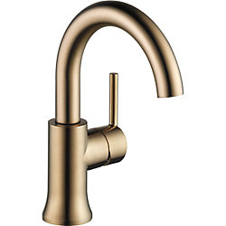 Trinsic Single Handle High-Arc Lavatory, Champagne Bronze