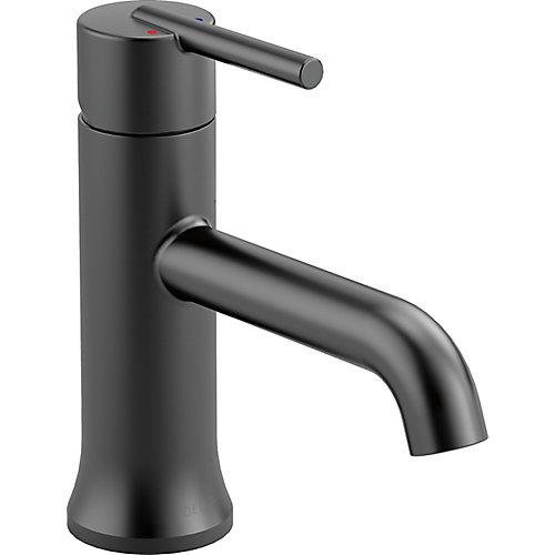 Trinsic Single Handle Lavatory Faucet - Less pop up, Matte Black