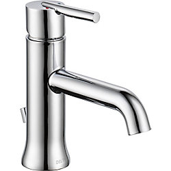 Trinsic Single Handle Lavatory Faucet - Less pop up, Chrome