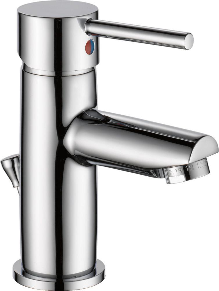 Delta Single Handle Lavatory Faucet, Chrome