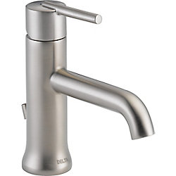 Trinsic Single Handle Lavatory Faucet - Less pop up, Stainless Steel