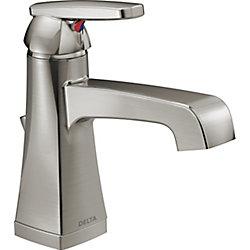 Ashlyn Single Handle Centerset Lavatory Faucet, Stainless Steel