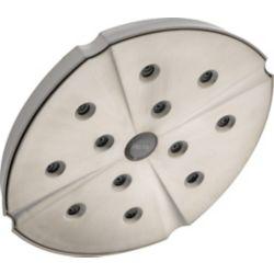 Delta Pomme de douche à réglage unique Addison, acier inoxydable