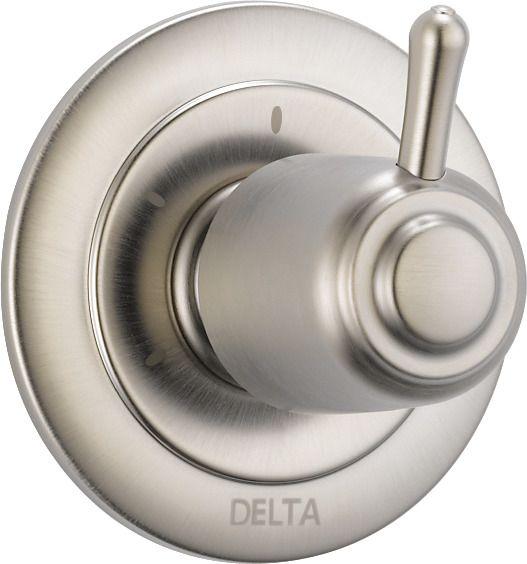 Delta 3 Setting Diverter Trim, Stainless Steel