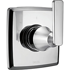 Ashlyn 3 Setting Diverter Trim, Chrome