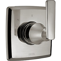 Ashlyn 3 Setting Diverter Trim, Stainless Steel