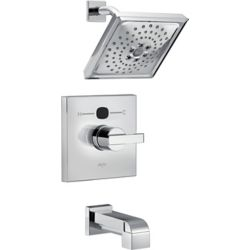 Delta Angular Modern Temp2O TubShower Trim, Chrome