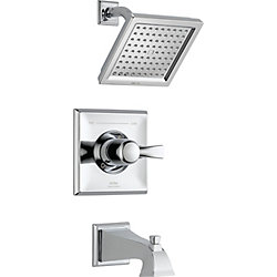 Dryden Monitor 14 Series Tub and Shower Trim, Chrome