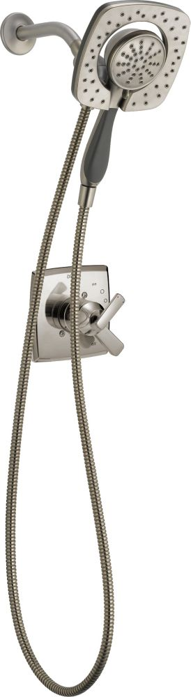 Delta Ashlyn Monitor 17 Series Shower with In2ition Two-in-One Shower Trim, Stainless Steel