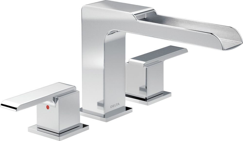 Delta T4738 Lahara Roman Tub With Handshower Trim Chrome