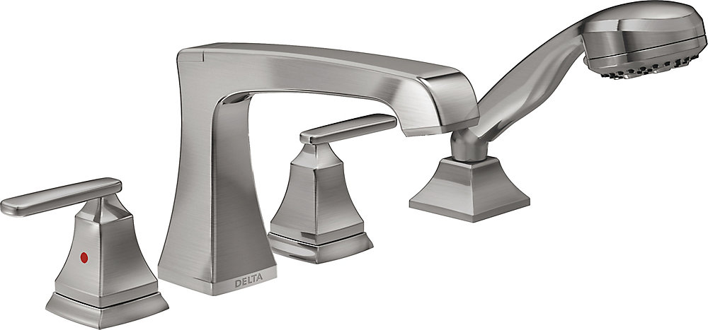 Ashlyn Roman Tub Trim, Stainless Steel