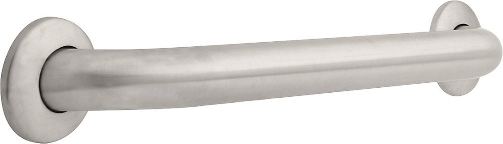 1-1/2 inch  x 18 inch  Grab Bar, Stainless Steel