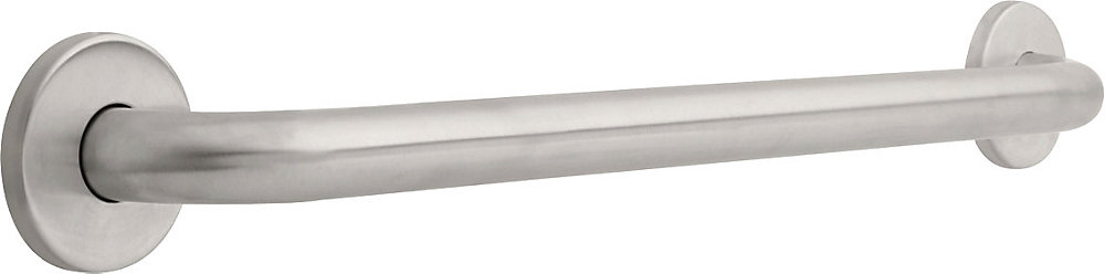 1-1/4 inch  x 24 inch  Grab Bar, Stainless Steel