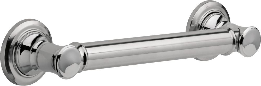 Delta Traditional Grab Bar - 12 inch , Chrome