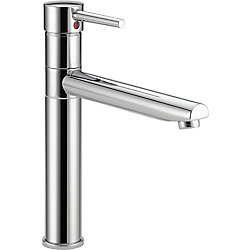 Trinsic Single Handle Centerset Kitchen Faucet, Chrome