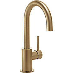 Single Handle Bar/Prep Faucet, Champagne Bronze