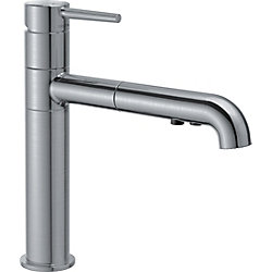 Trinsic Single Handle Pull-Out Kitchen Faucet, Arctic Stainless
