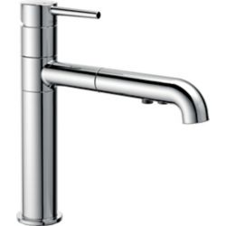 Delta Trinsic Single Handle Pull-Out Kitchen Faucet, Chrome