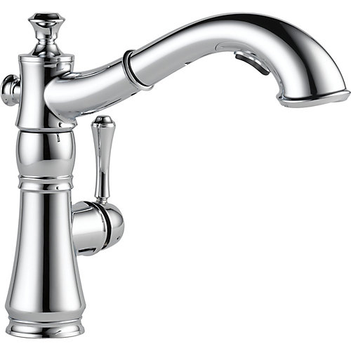 Cassidy Single Handle Pull-Out Kitchen Faucet, Chrome