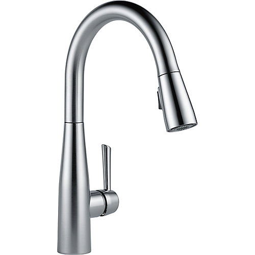 Essa Single Handle Pull-down Kitchen Faucet, Arctic Stainless