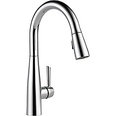 Essa Single Handle Pull-down Kitchen Faucet, Chrome