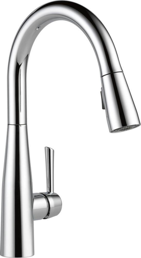 Delta Essa Single Handle Pull-down Kitchen Faucet, Chrome
