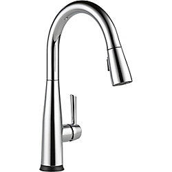 Essa Single Handle Pull-down Kitchen Faucet With Touch2O, Chrome