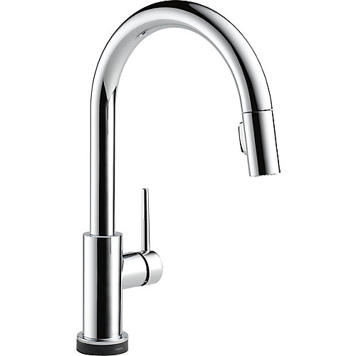Trinsic Single Handle Pull-Down Kitchen Faucet Featuring Touch2O Technology, Chrome