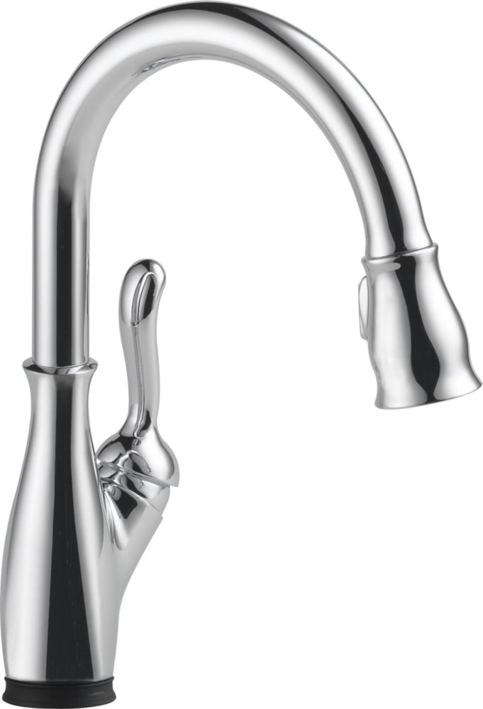 Delta Leland Single Handle Pull-Down Kitchen Faucet with Touch2O, Chrome