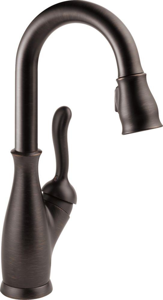 Delta Leland Single Handle Bar/Prep Faucet, Venetian Bronze